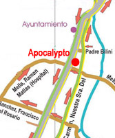 Map Apocalypto Las Terrenas