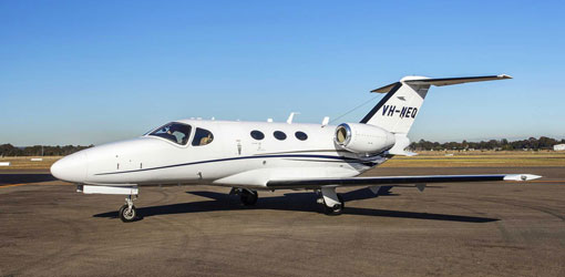Cessna Citation Mustang for private flights (VIP) from the El Catey Samaná airport