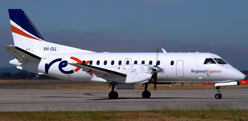 SAAB 340 for private flights (VIP) from the El Catey Samaná airport