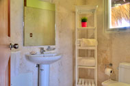 Bathroom of the second bedroom, Las Olas Residence, luxury rental in Las Terrenas
