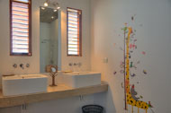 Bathroom of the second bedroom, Casa Phil, luxury rental in Las Terrenas