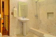 Bathroom of the third and fourth bedroom, Las Olas Residence, luxury rental in Las Terrenas