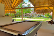 Open room for fitness, billiard, Villa Ocean Lodge, Los Nomadas, beachfront