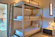 Bunk of the third bedroom, Casa Phil, luxury rental in Las Terrenas