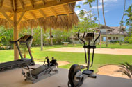 Fitness equipment, Villa Ocean Lodge, Los Nomadas, beachfront