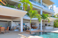 Exterior view and terrace, Casa Phil, luxury rental in Las Terrenas
