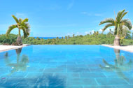 Exterior view and swimming pool, Casa Phil, luxury rental in Las Terrenas