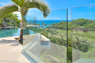 Exterior sea view, swimming pool and terrace, Casa Phil, luxury rental in Las Terrenas