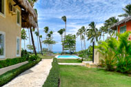 Exterior view, Las Olas Residence, luxury rental in Las Terrenas