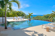 Exterior view, swimming pool and terrace, Casa Phil, luxury rental in Las Terrenas