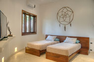 Fifth bedroom, Villa Ocean Lodge, Los Nomadas, beachfront