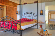 First bedroom, Casa Phil, luxury rental in Las Terrenas