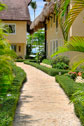 Exterior view and passage, Las Olas Residence, luxury rental in Las Terrenas