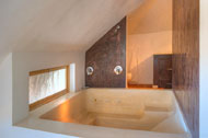 Jacuzzi of the Master Suite of the Villa Cocoloba at Portillo, Las Terrenas