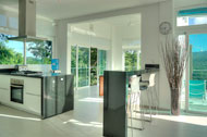 Kitchen and dining room, Villa White Sand, Las Terrenas