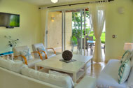 Living room, Las Olas Residence, luxury rental in Las Terrenas