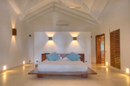Main bedroom, Villa Ocean Lodge, Los Nomadas, beachfront