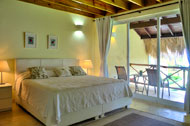 Master bedroom with terrace, Las Olas Residence, luxury rental in Las Terrenas