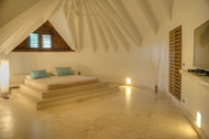 Ninth bedroom, Villa Ocean Lodge, Los Nomadas, beachfront