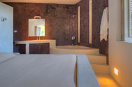 Second bedroom and the jacuzzi of the Villa Cocoloba at Portillo, Las Terrenas