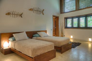 Tenth bedroom, Villa Ocean Lodge, Los Nomadas, beachfront