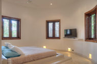 Third bedroom, Villa Ocean Lodge, Los Nomadas, beachfront