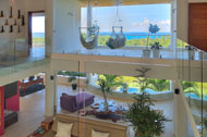 View from the third floor, Casa Phil, luxury rental in Las Terrenas