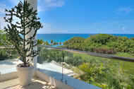 View from the terrace on the third floor, Casa Phil, luxury rental in Las Terrenas