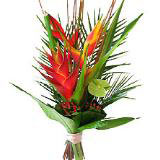 Exotic flower bouquets